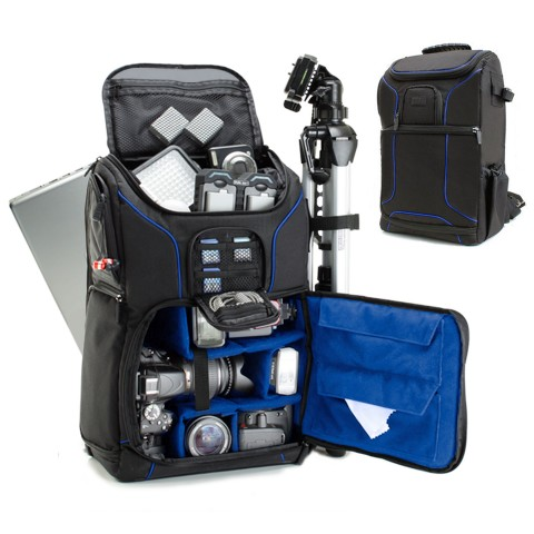 PROFESSIONAL CAMERA BACKPACK S17- BL
