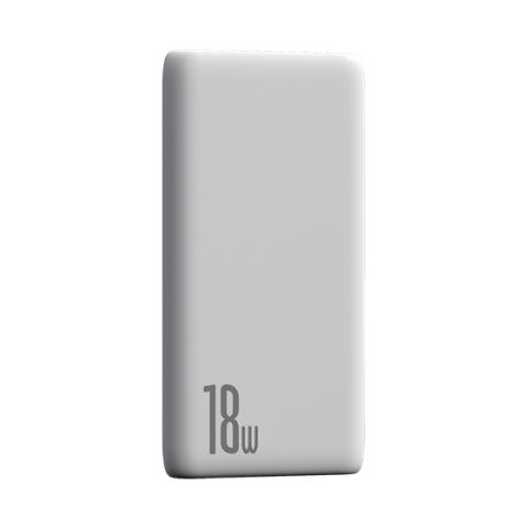 BIPOW POWERBANK PD+QC 10000MAH 18W BLACK/PINK/WHITE